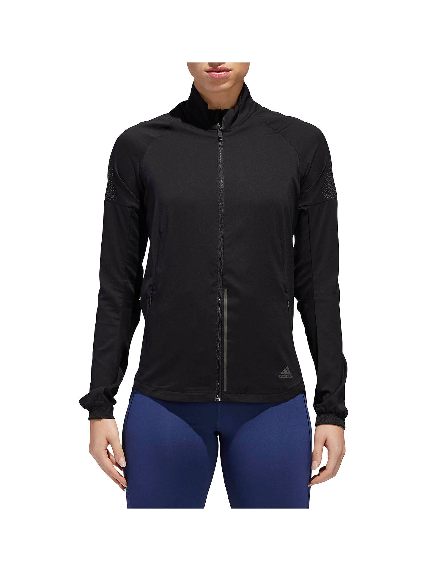 Buyadidas Supernova Confident Three Season Women's Running Jacket, Black, XS Online at johnlewis.com