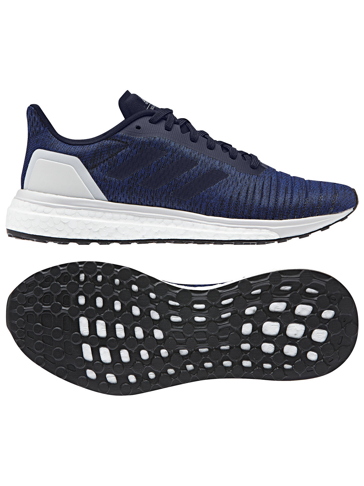 Buy adidas Solar Drive Women's Running Shoes, Mystery Ink, 4 Online at johnlewis.com