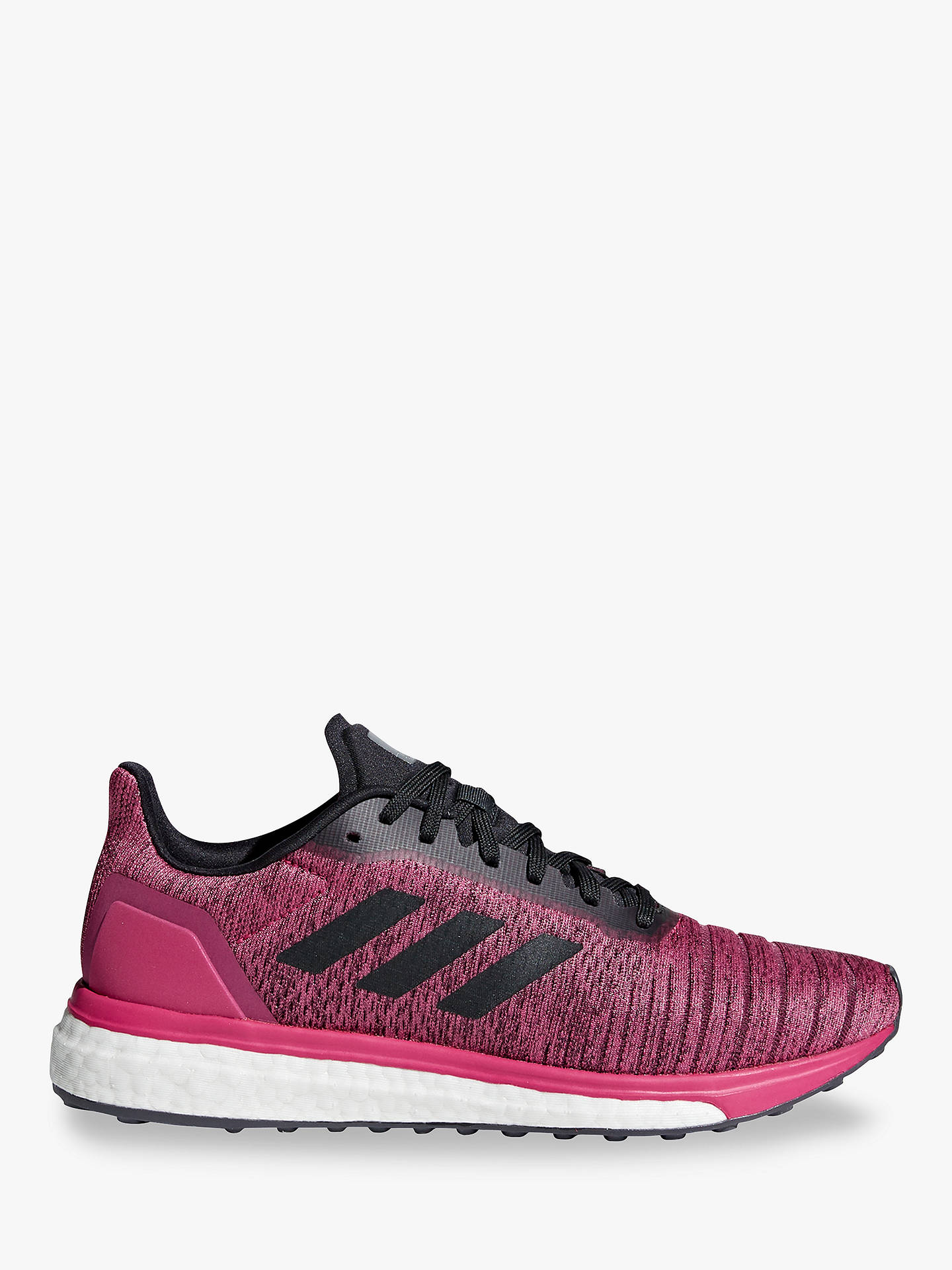 pretty nice e23b6 bcc25 Buy adidas Solar Drive Women s Running Shoes, Real Magenta Carbon Grey, 4  Online ...