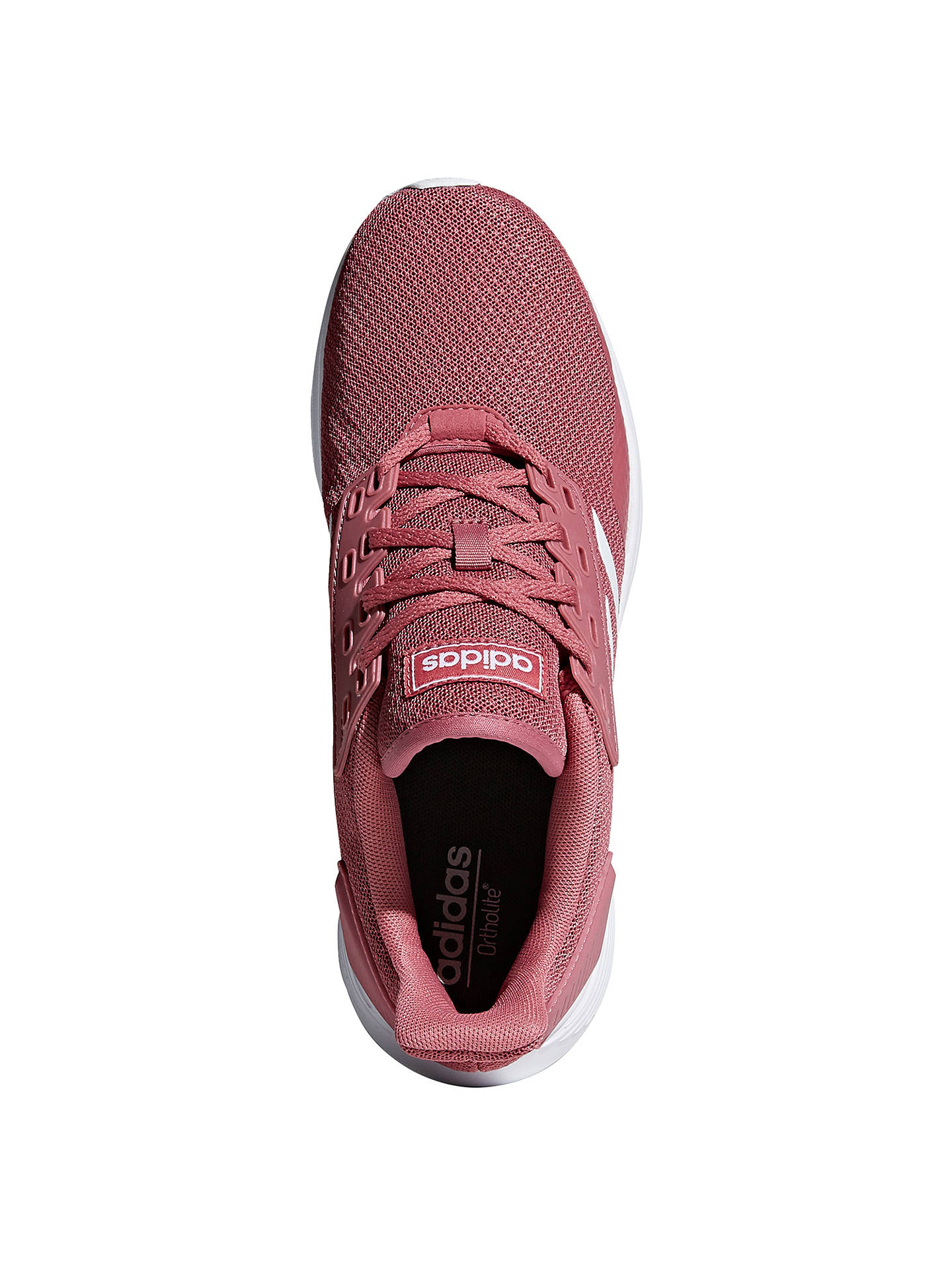 new product 9b034 78f33 ... Buyadidas Duramo 9 Womens Running Shoes, Trace MaroonWhite, 4 Online  at johnlewis ...