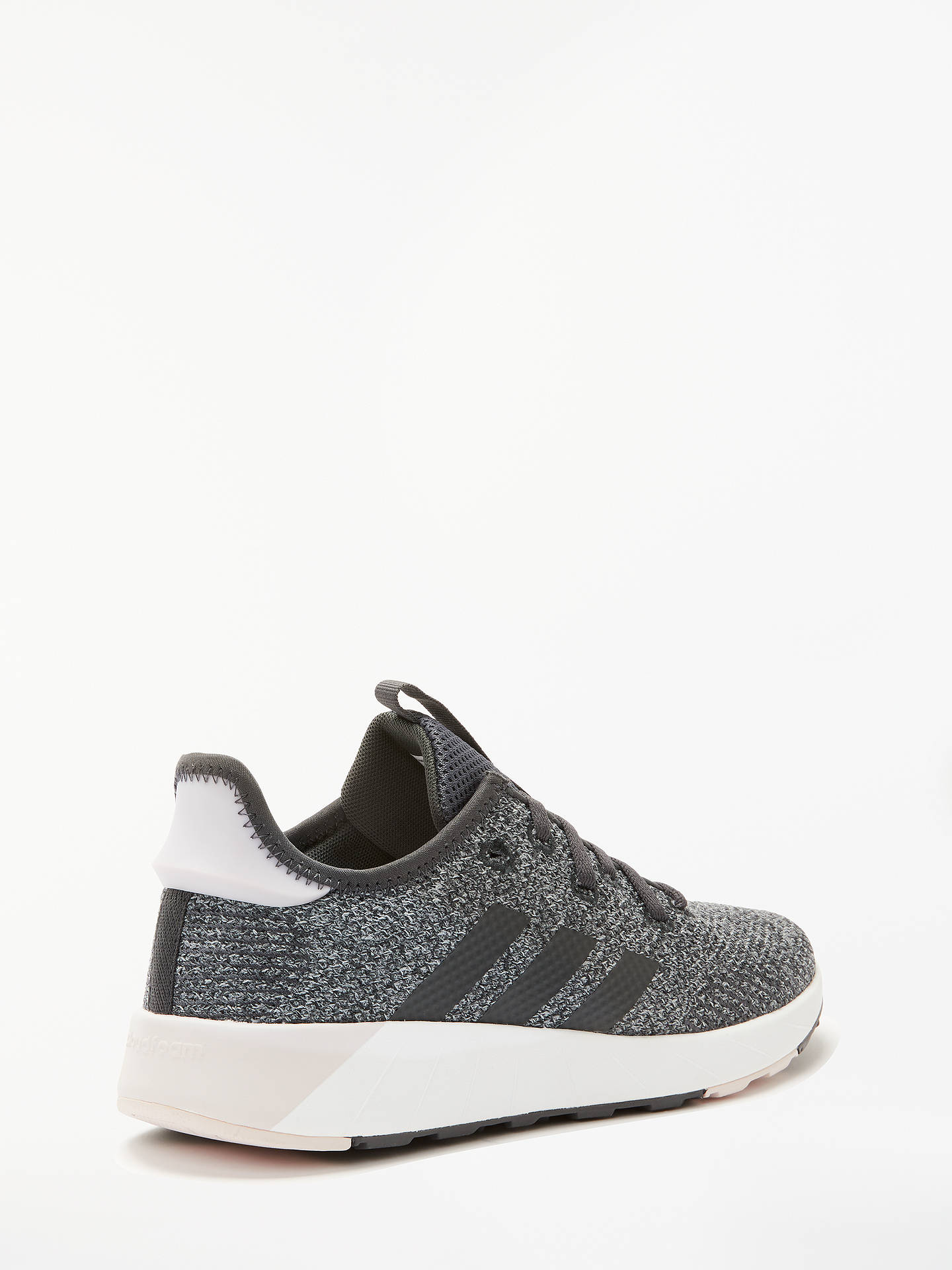 Buyadidas Questar X BYD Women's Trainers, Core Black/Carbon Grey, 4 Online at johnlewis.com