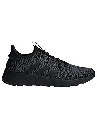 Buy adidas Questar X BYD Women's Trainers, Core Black, 4 Online at johnlewis.com