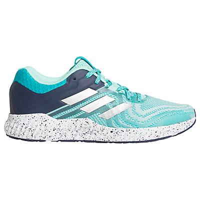 adidas Aerobounce ST Women's Running Shoes, Aqua/Silver Metallic