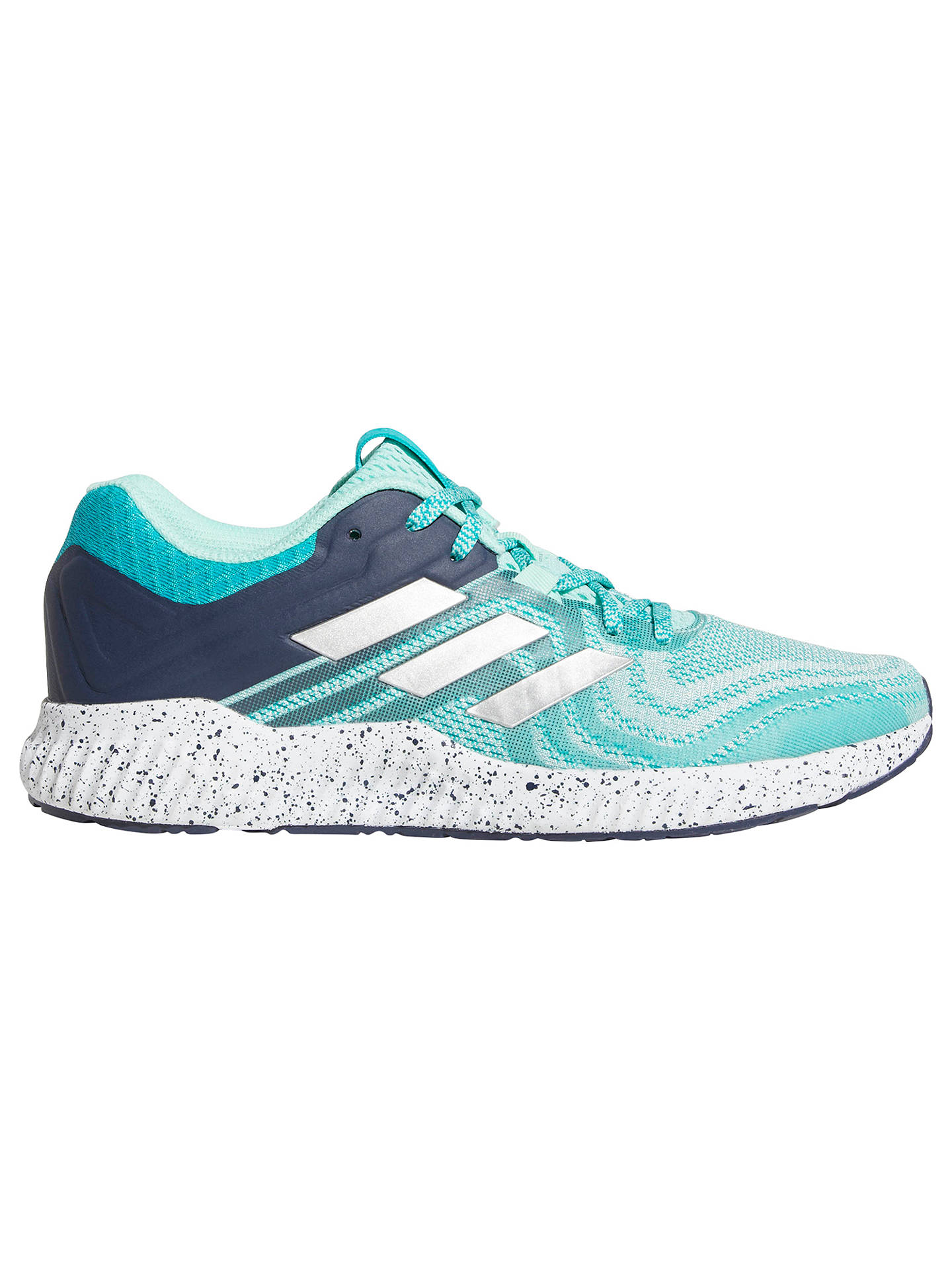 adidas Aerobounce ST Women's Running Shoes, AquaSilver