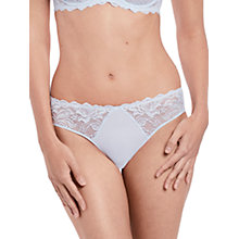 Buy Wacoal Eglantine Briefs, Silver Grey Online at johnlewis.com