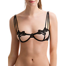 Buy Bluebella Nova Embroidered Bra, Black Online at johnlewis.com
