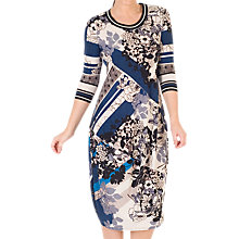 Buy Chesca Floral and Abstract Print Dress, Riviera Online at johnlewis.com
