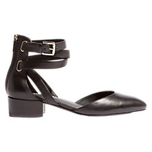 Buy Karen Millen Ankle Strap Ballet Pumps Online at johnlewis.com