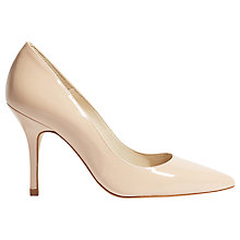 Buy Karen Millen Patent Collection Stiletto Heeled Court Shoes Online at johnlewis.com
