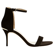 Buy Karen Millen Two Part Stiletto Sandals Online at johnlewis.com