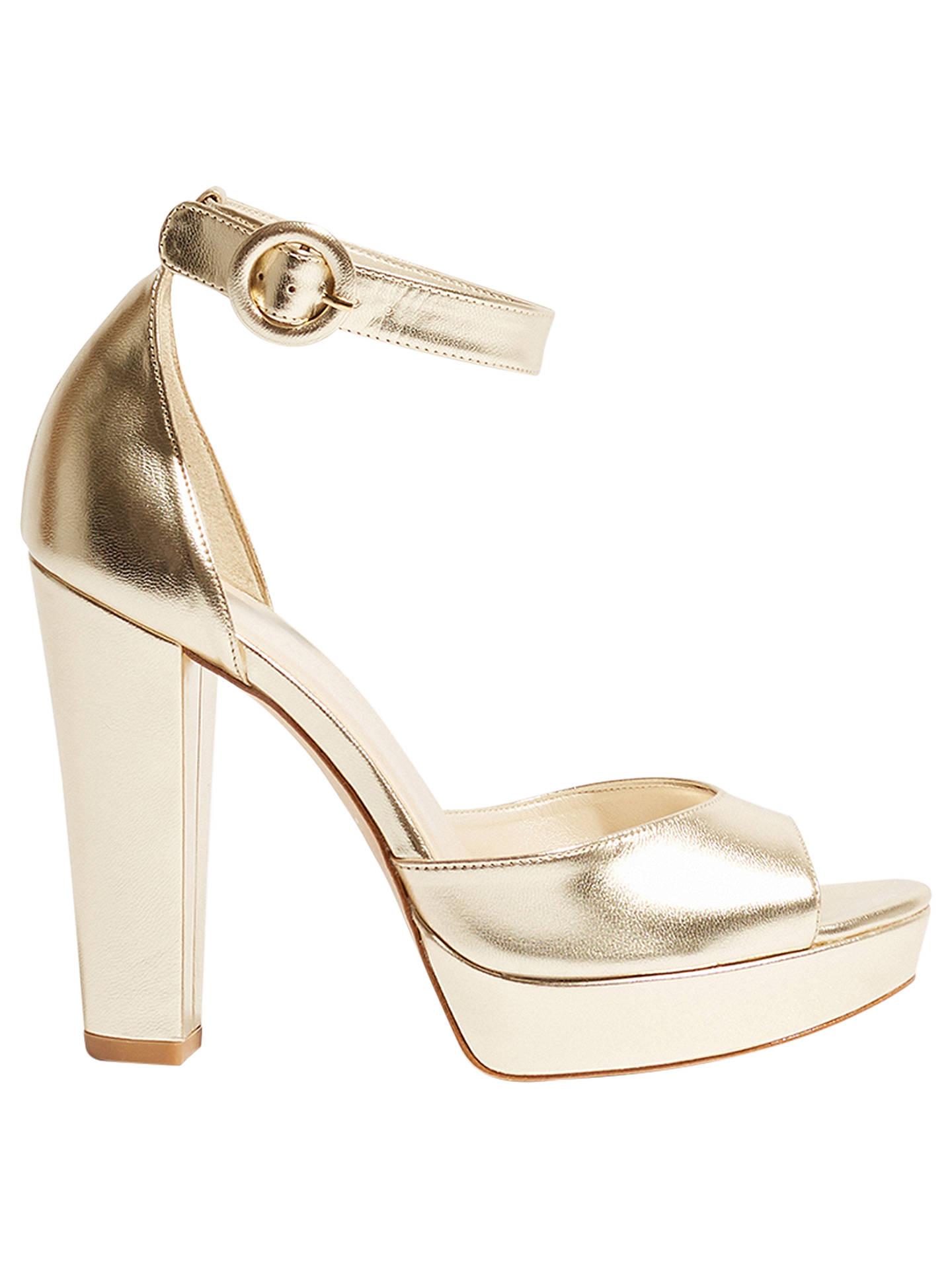 d5e266de4a6 Buy Karen Millen Platform Block Heel Sandals