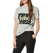 Buy Selected Femme Marny T-Shirt, Grey Marl Online at johnlewis.com