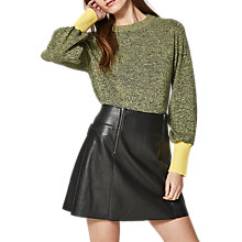 Buy Selected Femme Simia Jumper, Yellow/Goldfinch Online at johnlewis.com