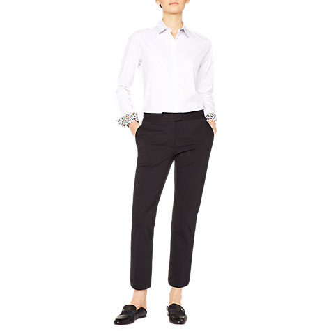Buy PS Paul Smith Slim Fit Trousers, Black Online at johnlewis.com