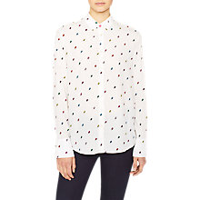 Buy PS Paul Smith Ice Lolly Print Shirt, White Online at johnlewis.com