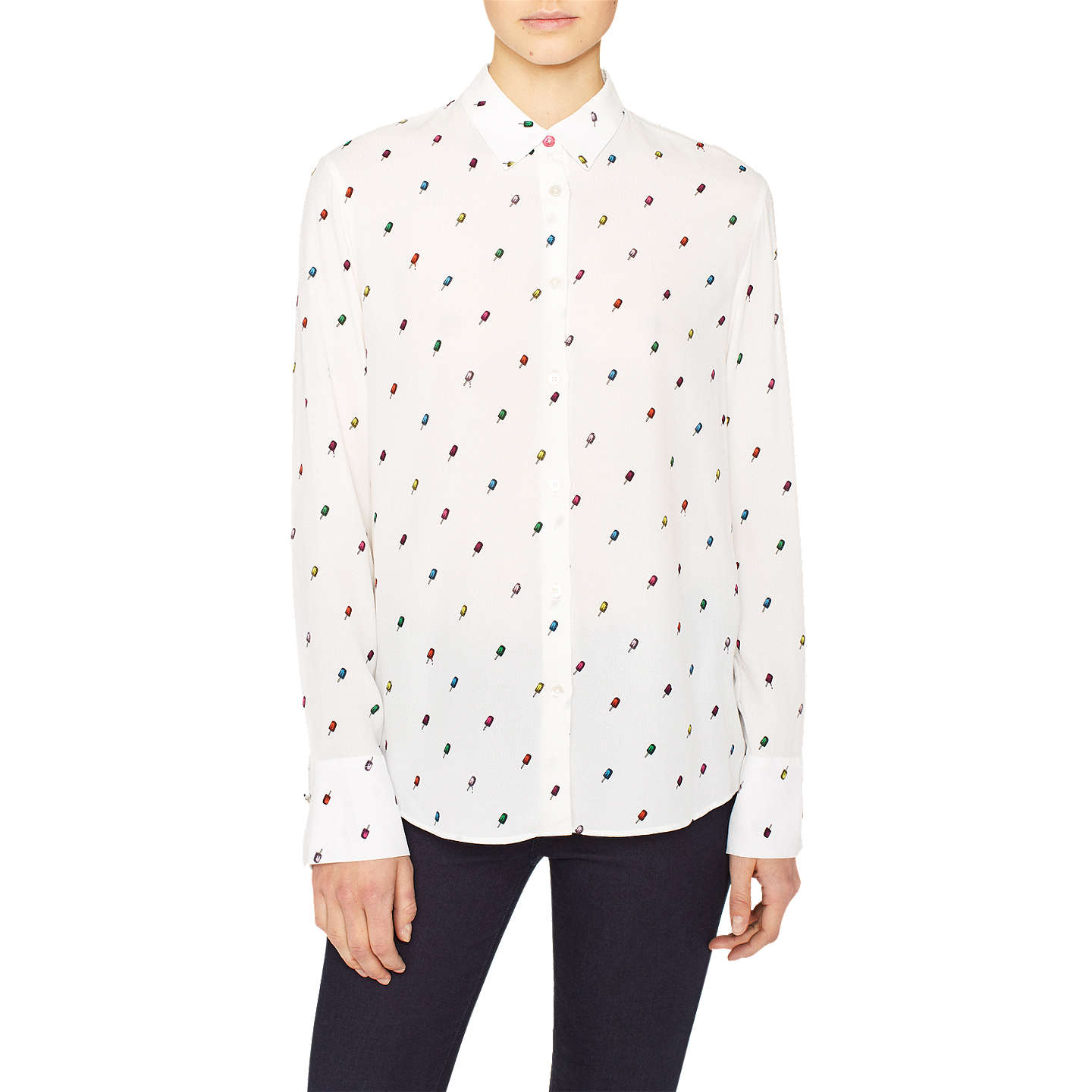 Paul Smith Ice lolly printed shirt