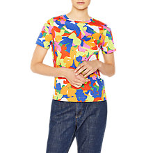 Buy PS Paul Smith Camo Print T-Shirt, Multi Online at johnlewis.com