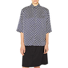 Buy PS Paul Smith Polka Dot Shirt, Navy Online at johnlewis.com