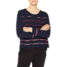 Buy PS Paul Smith Knitted Ribbon Wool Jumper Online at johnlewis.com