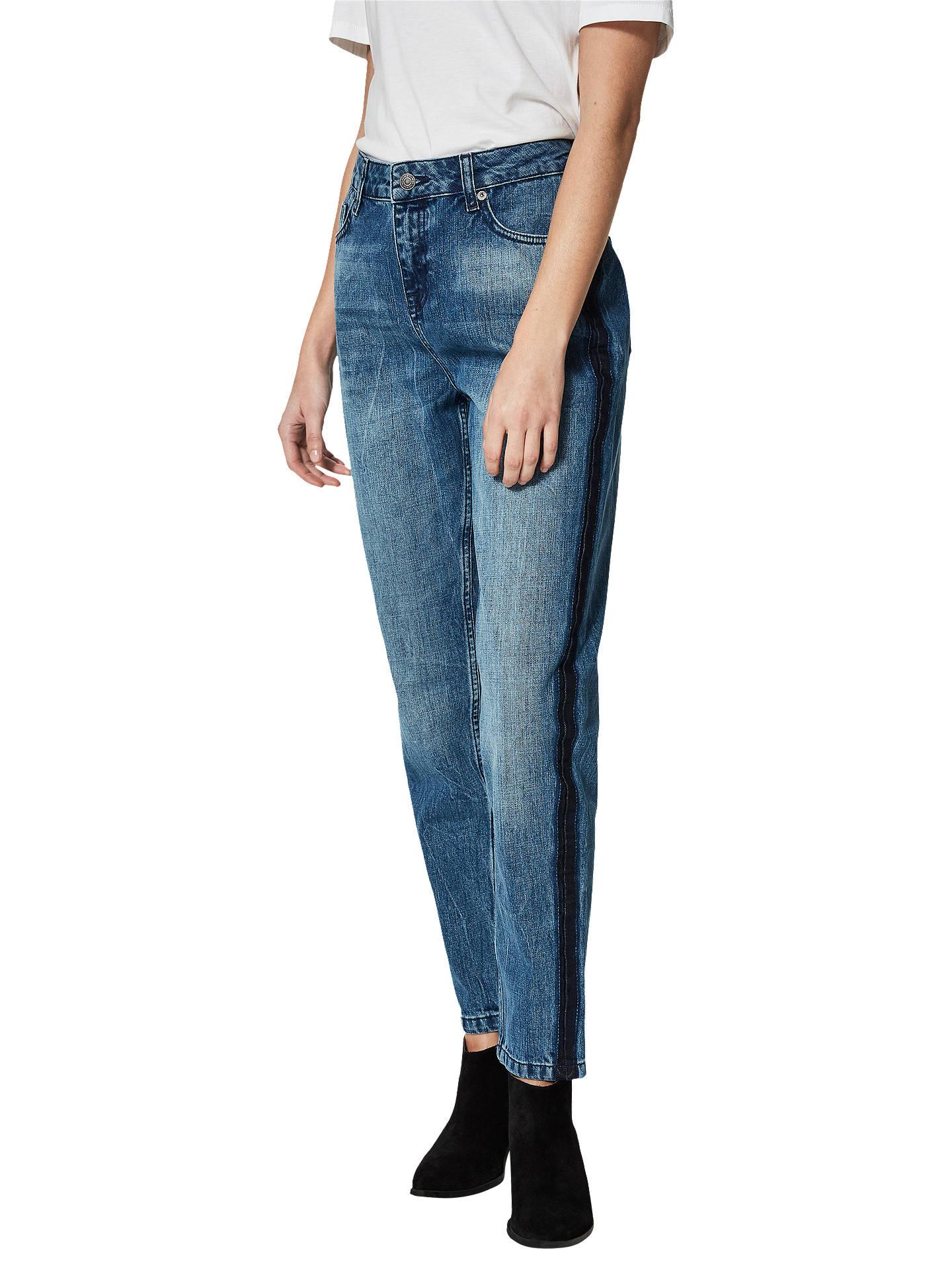 3a77f06eb5 Buy Selected Femme Roy Boyfriend Jeans, Blue Denim, 8 Online at  johnlewis.com ...