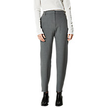 Buy Selected Femme Sfamila Trousers, Light Grey Melange Online at johnlewis.com