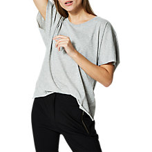 Buy Selected Femme Julia T-Shirt, Light Grey Melange Online at johnlewis.com