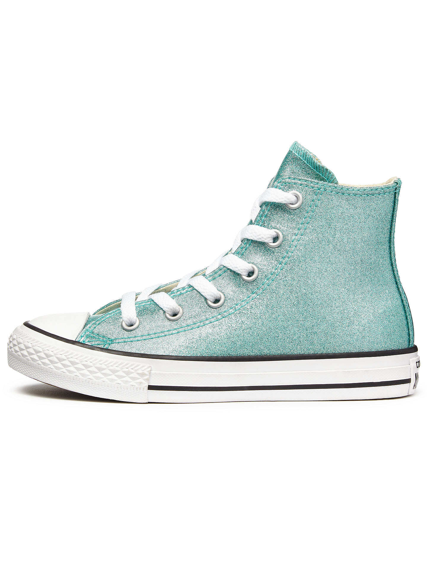 d18cfee2ee1fa4 Converse Children s Chuck Taylor All Star Hi-Top Glitter Trainers ...