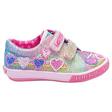 Buy Lelli Kelly Children's Rainbow Hearts Shoes, Multi Online at johnlewis.com