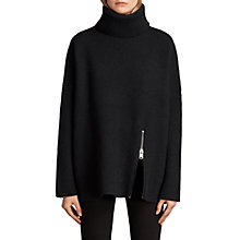 Buy AllSaints Claudia Wool Rich Jumper Online at johnlewis.com