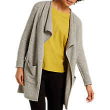Buy White Stuff Birch Longline Cardigan, Silver Grey Online at johnlewis.com