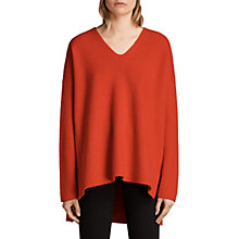 Buy AllSaints Clea V-Neck Jumper Online at johnlewis.com