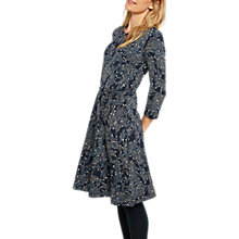 Buy White Stuff Day Dreaming Jersey Dress, Arran Teal Print Online at johnlewis.com