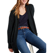 Buy White Stuff Maple Longline Cardigan, Forest Green Online at johnlewis.com