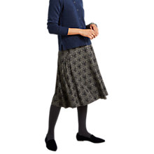 Buy White Stuff Decadence Jersey Skirt, Winter Grey Online at johnlewis.com