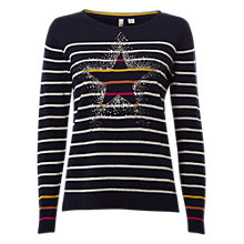 Buy White Stuff Twinkle Star Jumper Online at johnlewis.com