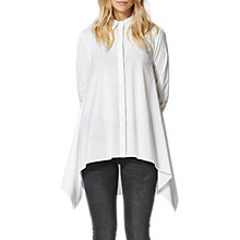 Buy Selected Femme Mili Long Sleeve Shirt, Snow White Online at johnlewis.com
