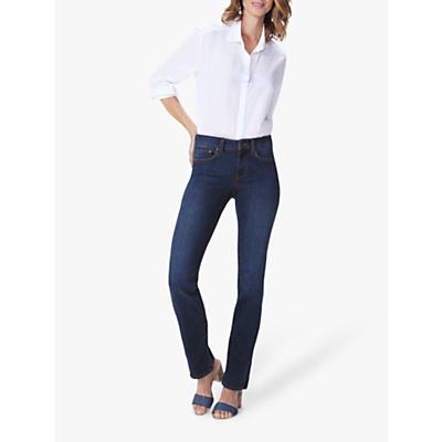 Product photo of Nydj marilyn straight leg regular jeans cooper blue