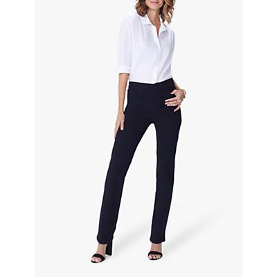 NYDJ Marilyn Straight Leg Jeans, Black