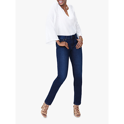 NYDJ Sheri Slim Regular Jeans, Cooper Blue