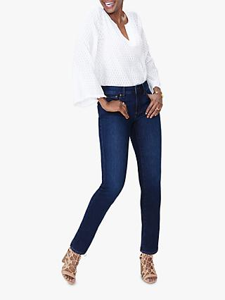 NYDJ Sheri Slim Regular Jeans, Cooper Blue