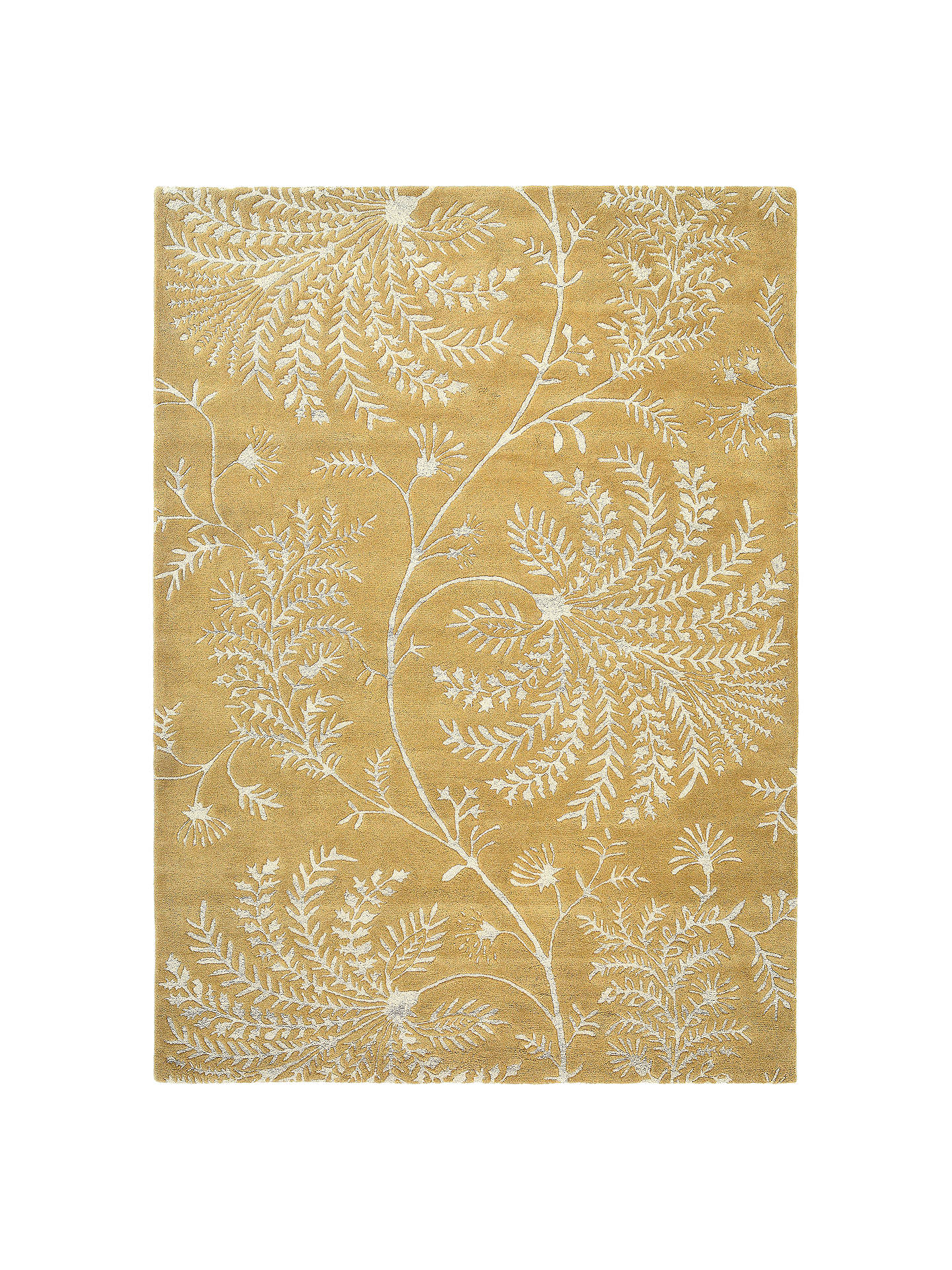 BuySanderson Mapperton Rug, Yellow, L240 x W170cm Online at johnlewis.com