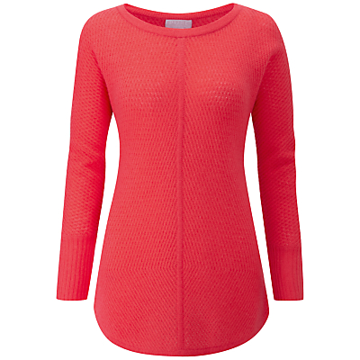 Pure Collection Gassato Cashmere Ribbed Jumper Review