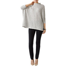 Buy Pure Collection Cashmere Lofty Cable Knit Jumper Online at johnlewis.com