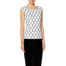 Buy Gina Bacconi Melinda Scallop Sequin Top Online at johnlewis.com