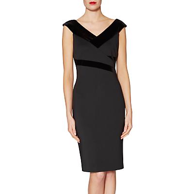 Gina Bacconi Ava Velvet Panel Dress