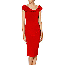 Buy Gina Bacconi Courtney Twist Dress Online at johnlewis.com