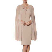 Buy Gina Bacconi Frieda Cape Dress Online at johnlewis.com