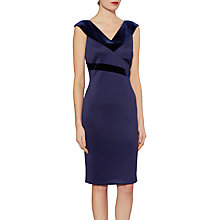 Buy Gina Bacconi Ava Velvet Panel Dress Online at johnlewis.com