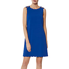 Buy Gina Bacconi Tamsin Button Shoulder Dress Online at johnlewis.com