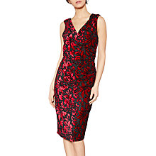 Buy Gina Bacconi Tanya Floral Velvet Dress Online at johnlewis.com